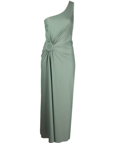 Платье миди - зеленое Oseree