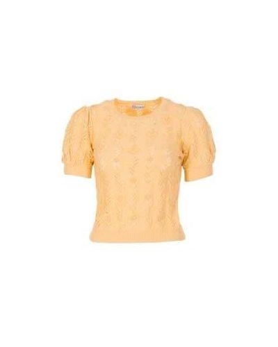 Желтый джемпер летний Valentino Red