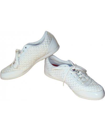 Кожаные кроссовки - белые Firetrap