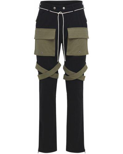 Czarne spodnie Lifted Anchors
