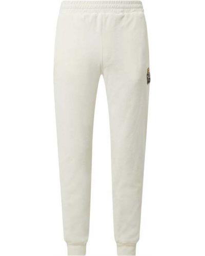 Białe spodnie dresowe bawełniane Sergio Tacchini