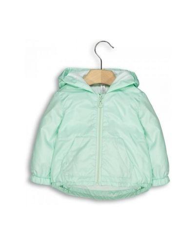 Куртка с капюшоном с карманами зеленая Idexe
