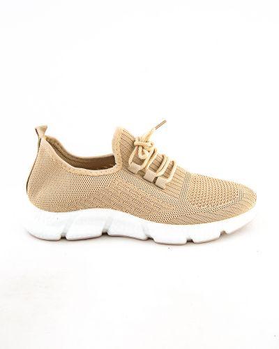 Бежевые ботинки летние Meitesi