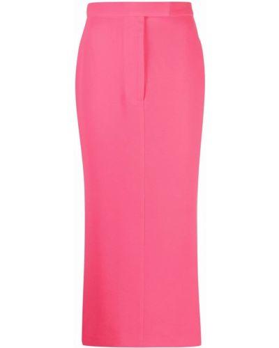 Розовая юбка из полиэстера Alex Perry