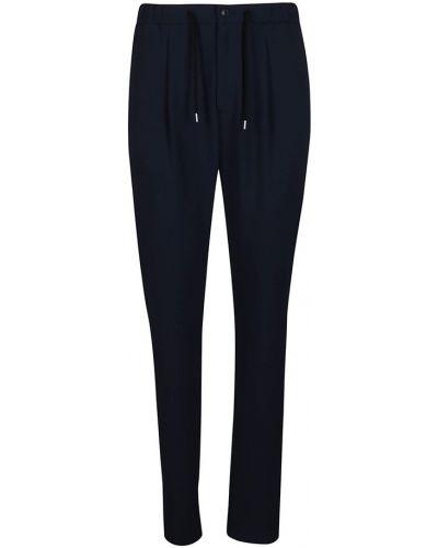 Niebieskie spodnie Giorgio Armani