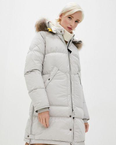 Бежевая зимняя куртка Parajumpers