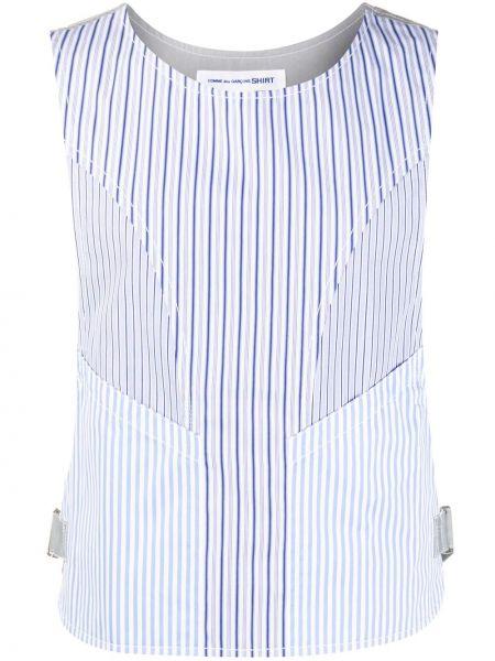 Koszula z paskami w paski Comme Des Garcons Shirt