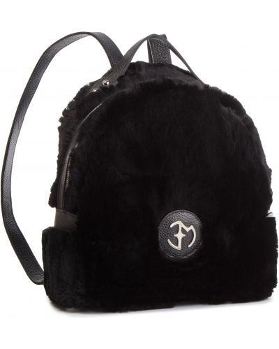 Skórzany plecak czarny Eva Minge