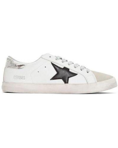 Sneakersy - białe Le Temps Des Cerises