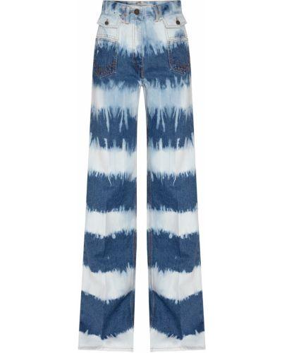 Синие джинсовые джинсы с принтом Gerard Darel