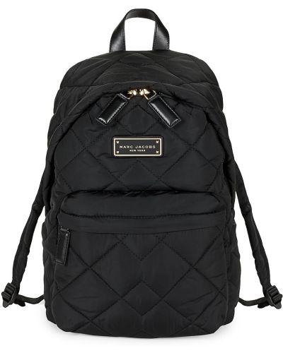Plecak pikowany - czarny Marc Jacobs