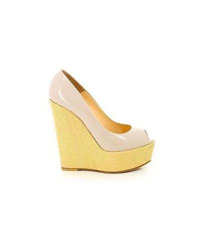 Бежевые демисезонные туфли Nando Muzi