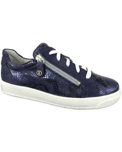 Niebieskie sneakersy Hickersberger