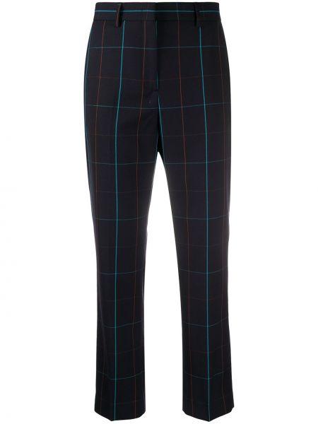 Укороченные брюки с поясом с воротником Paul Smith