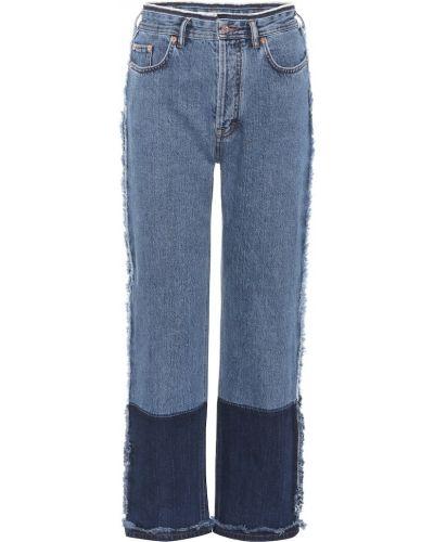 Bawełna bawełna prosto niebieski jeansy Acne Studios