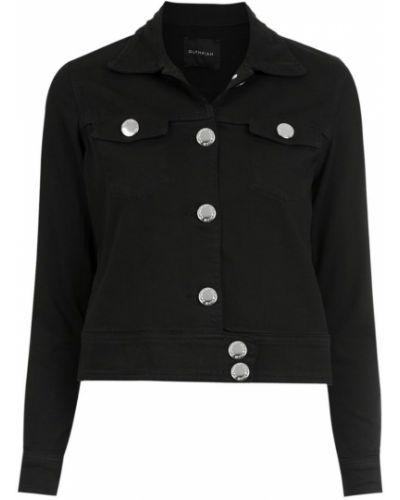 Прямая черная джинсовая куртка Olympiah