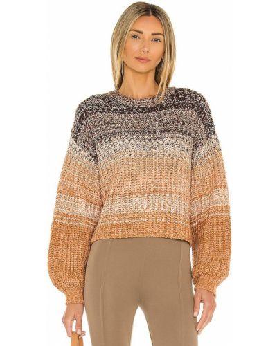 Кашемировый свитер - коричневый 525