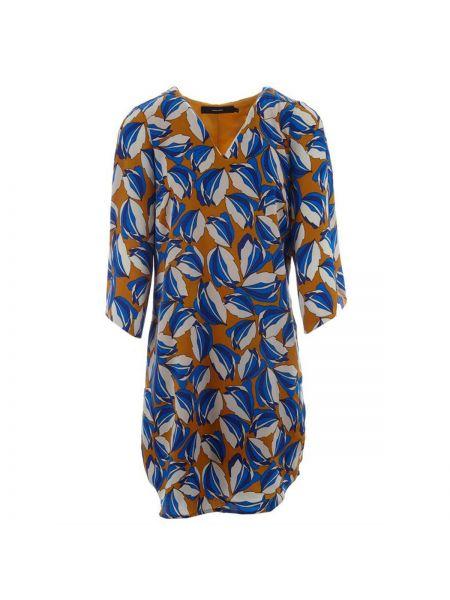 Платье миди с V-образным вырезом прямое Vero Moda