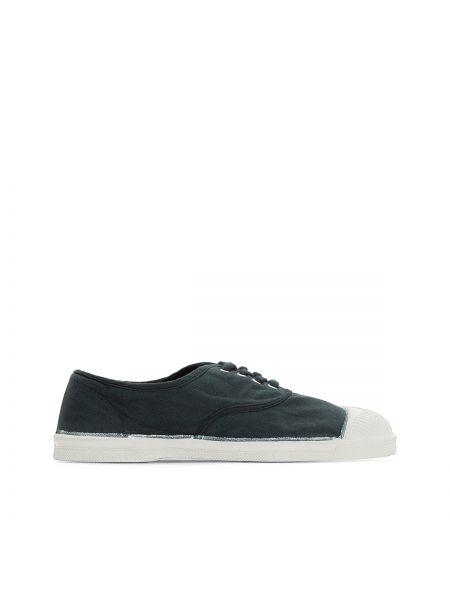Зеленые кроссовки низкие Bensimon