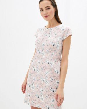 Платье футляр розовое Taifun