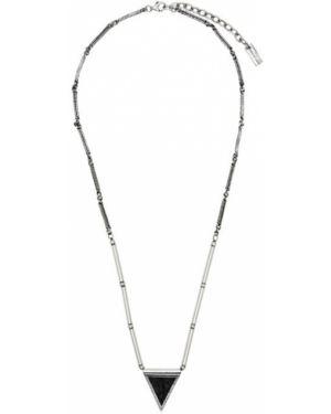 Ожерелье серебряный Saint Laurent