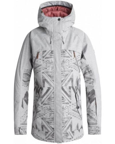 Утепленная куртка для сноуборда серая Roxy