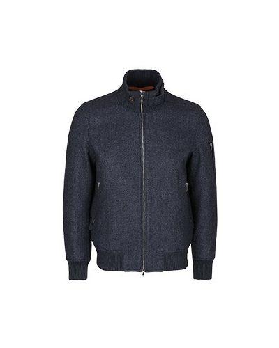 Синяя демисезонная куртка Cortigiani