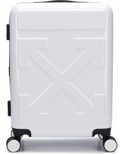Белый чемодан Off-white