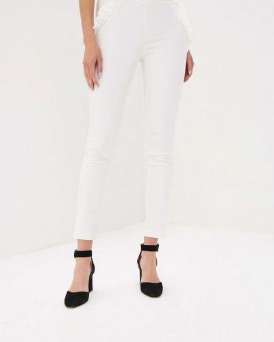 Белые брюки зауженные Love Republic