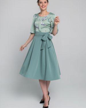 Платье мини миди с поясом Sezoni