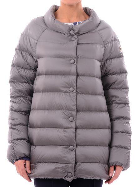 Куртка с перьями - серая Marina Yachting