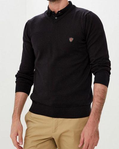 Пуловер черный желтый Jimmy Sanders