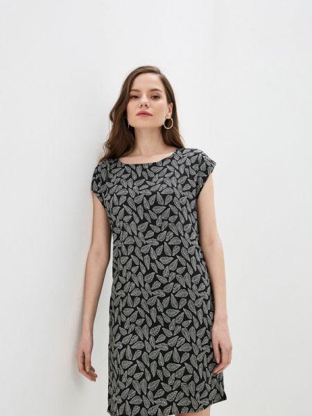 Платье прямое черное Incity