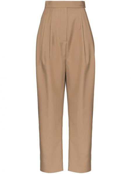 Зауженные свободные брюки с бантом с карманами свободного кроя Marta Jakubowski