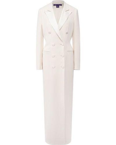 Платье шелковое с подкладкой Ralph Lauren