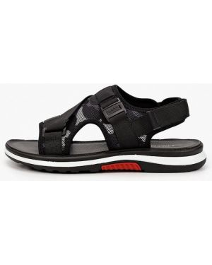 Текстильные черные сандалии T.taccardi