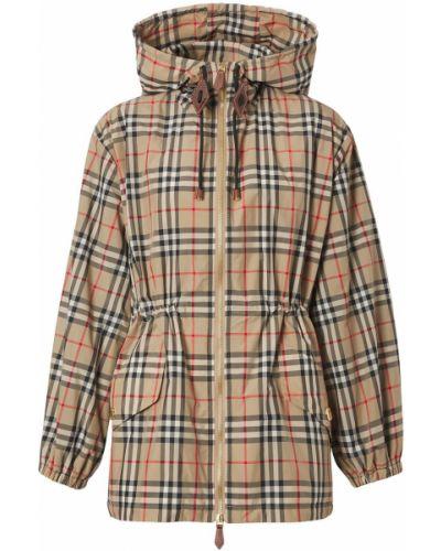 Куртка с капюшоном - бежевая Burberry