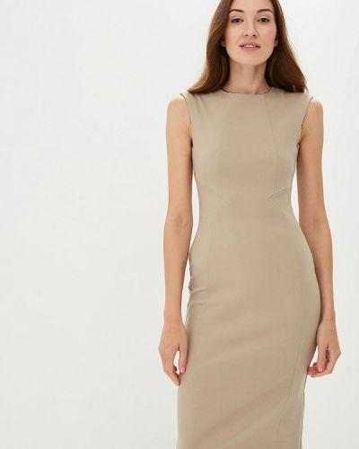 Бежевое платье футляр Dorothy Perkins