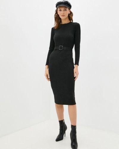 Платье футляр - черное Miss Gabby