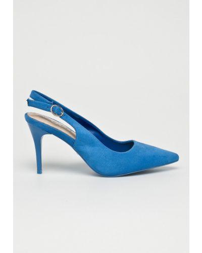 Туфли на высоком каблуке кожаные на каблуке Answear