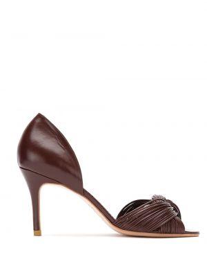 Туфли-лодочки с открытым носком на шпильке Sarah Chofakian