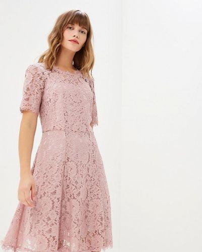 Вечернее платье розовый осеннее Lusio