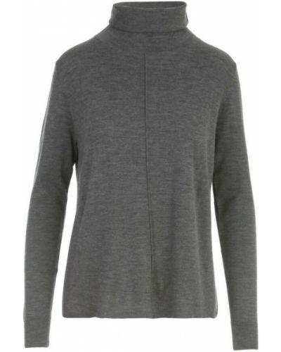 Szary sweter asymetryczny Aspesi