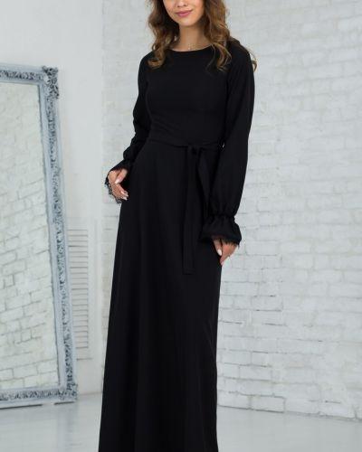 Платье макси с поясом платье-сарафан азалия