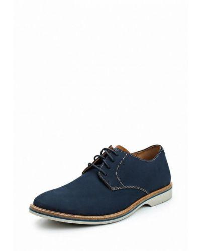 Синие туфли Clarks