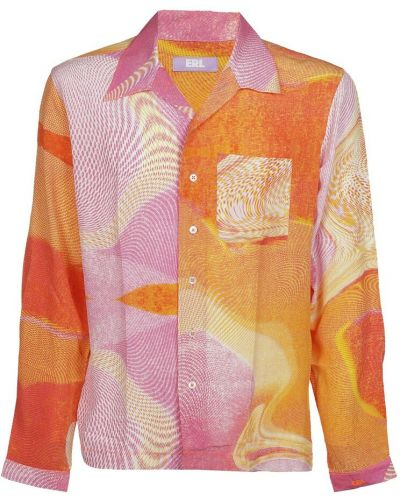 Pomarańczowa koszula Erl