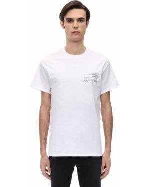 Biały t-shirt Tdt - Tourne De Transmission