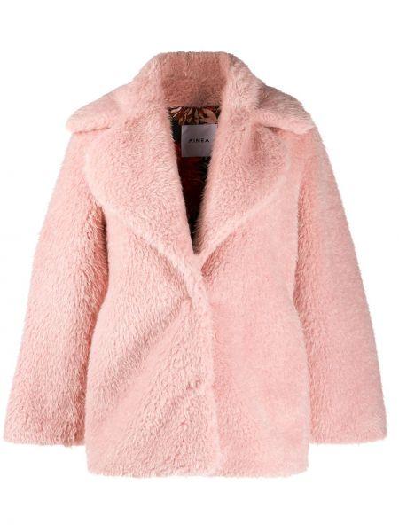 Розовая шуба Ainea
