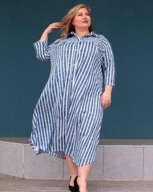 Джинсовое платье годе инсантрик