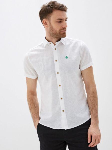 Рубашка с короткими рукавами белый Springfield